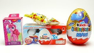 Super Surprise Egg Collection with My Little Pony and Kinder Maxi Egg