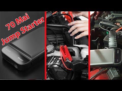 Xiaomi Mi 70Mai New Car Jump Starter -12V Battery Power Bank Booster