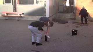 Testoteket Hvide Sande Cola-bombe