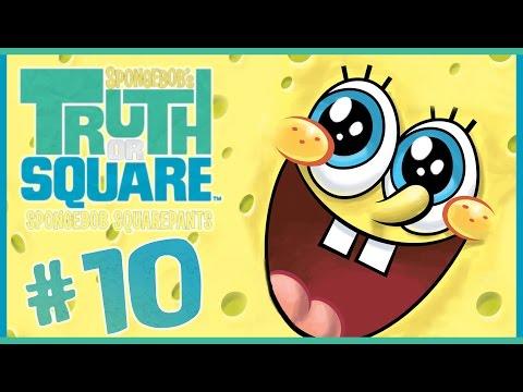 SpongeBob Truth or Square Walkthrough Part 10 (Wii, X360, PSP) ~~ Level 10 ~~ Final Boss + Ending