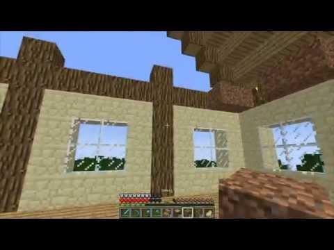 Minecraft - Выживание. Часть 10. Постройка дома ч.3