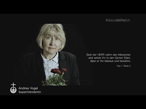 #dazusteheich - Superintendentin Andrea Vogel zum Thema Respekt vor der Umwelt