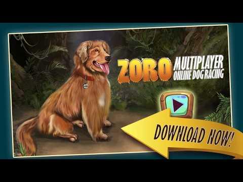 zoro-pet-run-online-multiplayer-dog-racing-game---official-game-trailer-rockville-games
