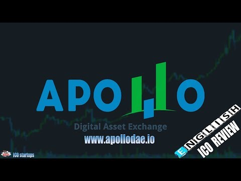 Apollo DAE ICO REVIEW! Apollo DAE - Digital Asset Exchange! ICO LIVE!