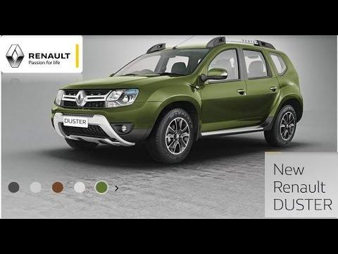 New Renault DUSTER  2016 |Seven Color Variants|