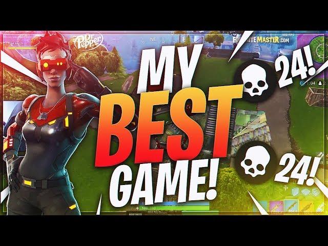TSM Myth - MY BEST GAME TO DATE!! 24 FRAGS!! (Fortnite BR Full Match)