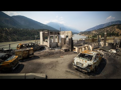 Lytton residents get first look at charred remains of community destroyed by fire