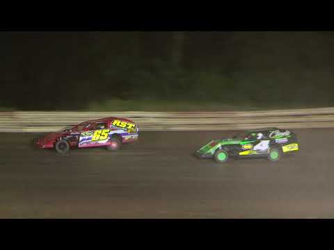 Amish Hilltop Speedway Modified Feature/Post Race Interview 7-26-2019
