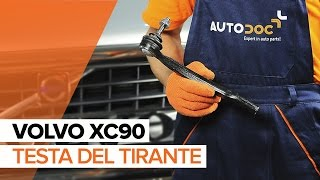 Guarda una guida video su come cambiare VOLVO XC90 I Molle di sospensione