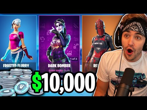 I Spectated A PRO PLAYER & Bought Him EVERYTHING In The ITEM SHOP!