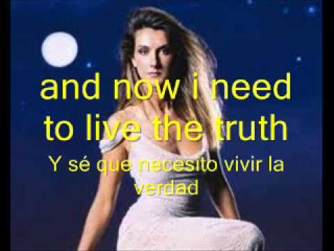 CELINE DION I SURRENDER LYRICS ENGLISH-SPANISH