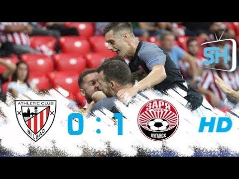 Athletic Bilbao vs Zorya Luhansk 0-1 All Goals and Highlights Europa League September 28 ,2017