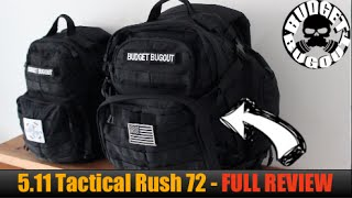 5.11 Tactical Rush 72 Backpack -- Full Review | Military, Outdoor, Everyday Carry (EDC) Backpack