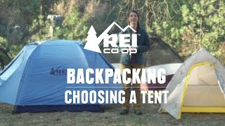 How to Choose Backpacking Tents || REI thumbnail