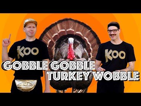 Koo Koo Kanga Roo - Gobble Gobble Turkey Wobble (Dance-A-Long)
