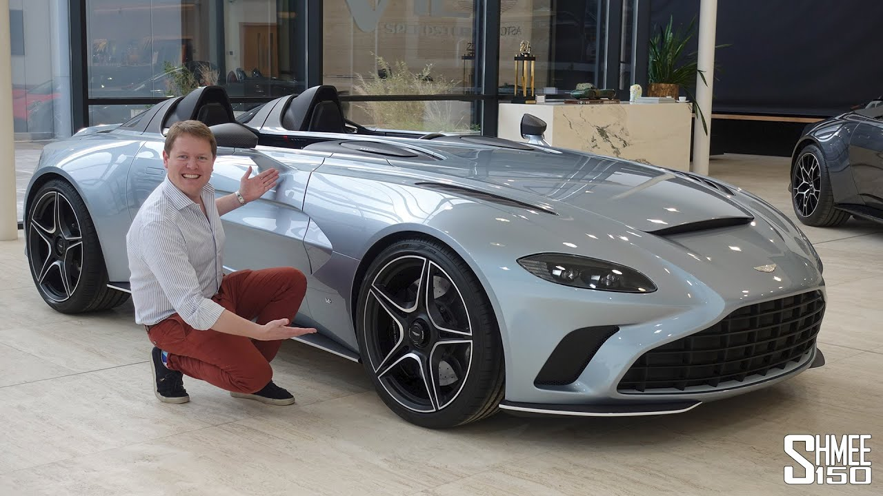 Check Out The New Aston Martin V12 Speedster First Look Youtube