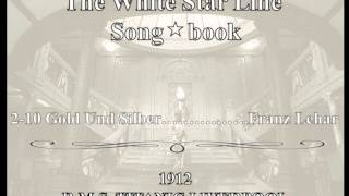 White Star Line Song Book c2