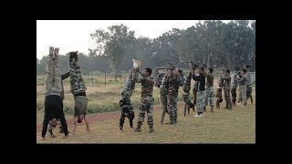 Watch Training Video of CISF Commando Police - Indian Army