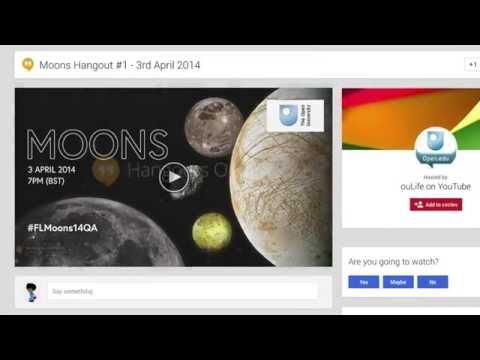 Moons MOOC Google Hangout Promo