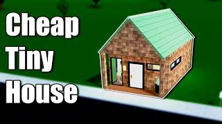 Cheap Tiny House!! • Roblox: Bloxburg • 7K