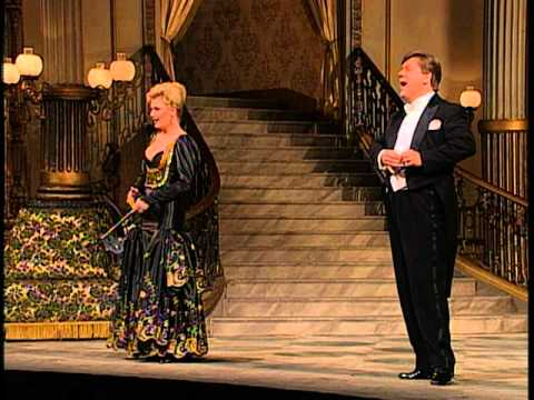 Die Uhr Duett(Die Fledermaus-J.Strauss) - Hakan Hagegard & Karita Mattila