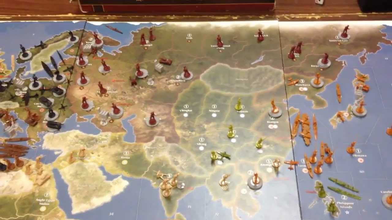 Top 8 Axis and Allies Anniversary Edition – Board Games ...