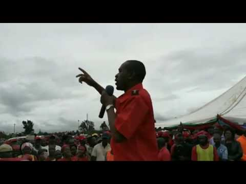 Nelson Chamisa. MDC Masvingo Rally 11 February 2018