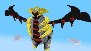 Minecraft vs Pokemon go | GIGA GIRATINA!! | (Tower of Terror)