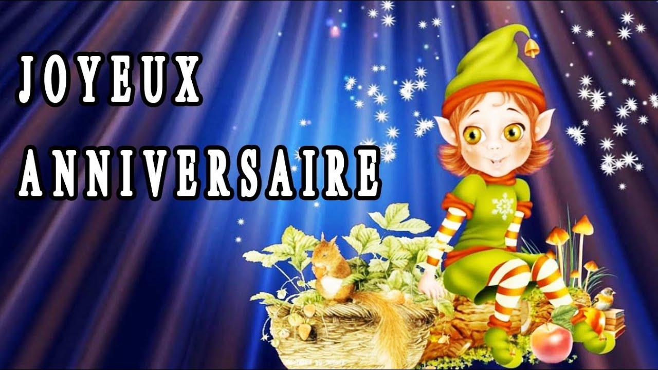 Joyeux Et Bon Anniversaire Carte Virtuelle Musicale Zen Un Petit Cadeau Original F Amathy Youtube