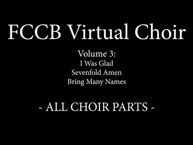 FCCB Vol  3 Singalong  - All Parts