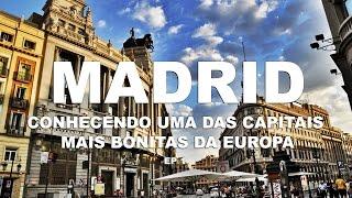 Madri, uma das capitais mais bonitas da Europa - Madri | Espanha - Ep. 1