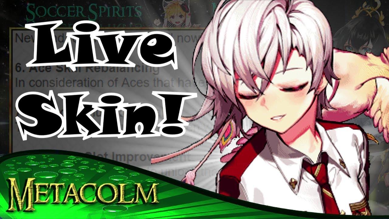 [Soccer Spirits] May Major Update Developer Notes :: Live Skins!!