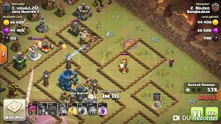 A war attack town hall 12 Vs 12