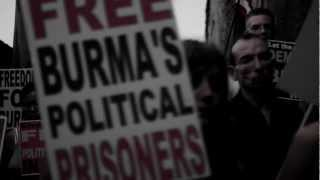 FREE BURMA'S POLITICAL PRISONERS!!! - BANDE ANNONCE - MARIA PALATINE -  OUR HEARTS ARE WITH YOU