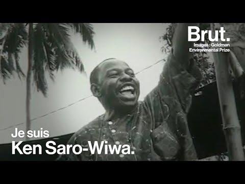 Portrait du militant écologiste Ken Saro-Wiwa