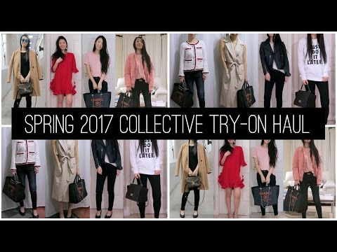 Collective Try-On Haul & Spring 2017 Trends! | FashionablyAMY