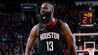 Rockets 12 Game Win Streak! CP3, Harden Score 28 vs Spurs! 2017-18 Season