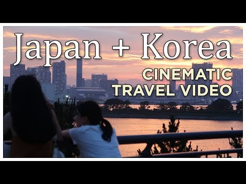 Cinematic Travel Video: Japan + Korea 2017 with Canon G7X Mark II