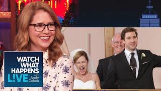 Jenna Fischer Has Thoughts On Chrissy Teigen's Jim & Pam Twitter Poll   WWHL