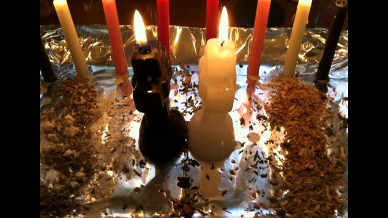 Break up candle spell