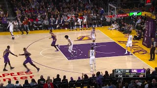 2nd Quarter, One Box Video: Los Angeles Lakers vs. Brooklyn Nets