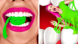 WE TESTED VIRAL TikTok TRICKS | Roll Gum Battle! BODY TRICKS 99% of People Fail by 123 GO! CHALLENGE