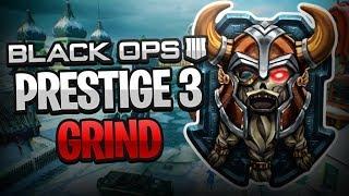 Call of Duty Black Ops 4 : Prestige 3 Grind : Road To 3.5k Subs- 1/5 Sponsors Goal