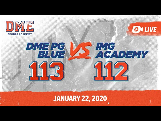 DME PG Blue vs IMG