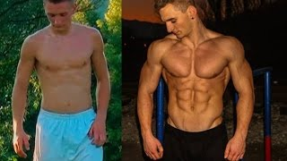 Insane 2 Years Street Workout Transformation ( Calisthenics ) Motivation(Buy the BTX program ! http://bit.ly/BarstarzzBTX-1004 Mistake at the start,it was not 68kg it was 71kg,found and old picture from that year,and i was 71kg,sorry ..., 2015-09-02T05:22:50.000Z)