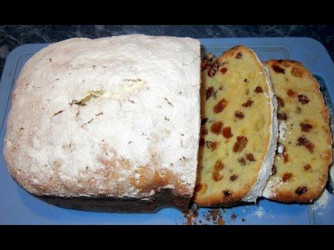 Кекс Столичный в хлебопечке.