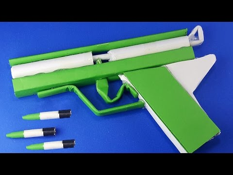 |DIY| How To Make a Simple Pistol | Paper Gun | By Dr.Origami