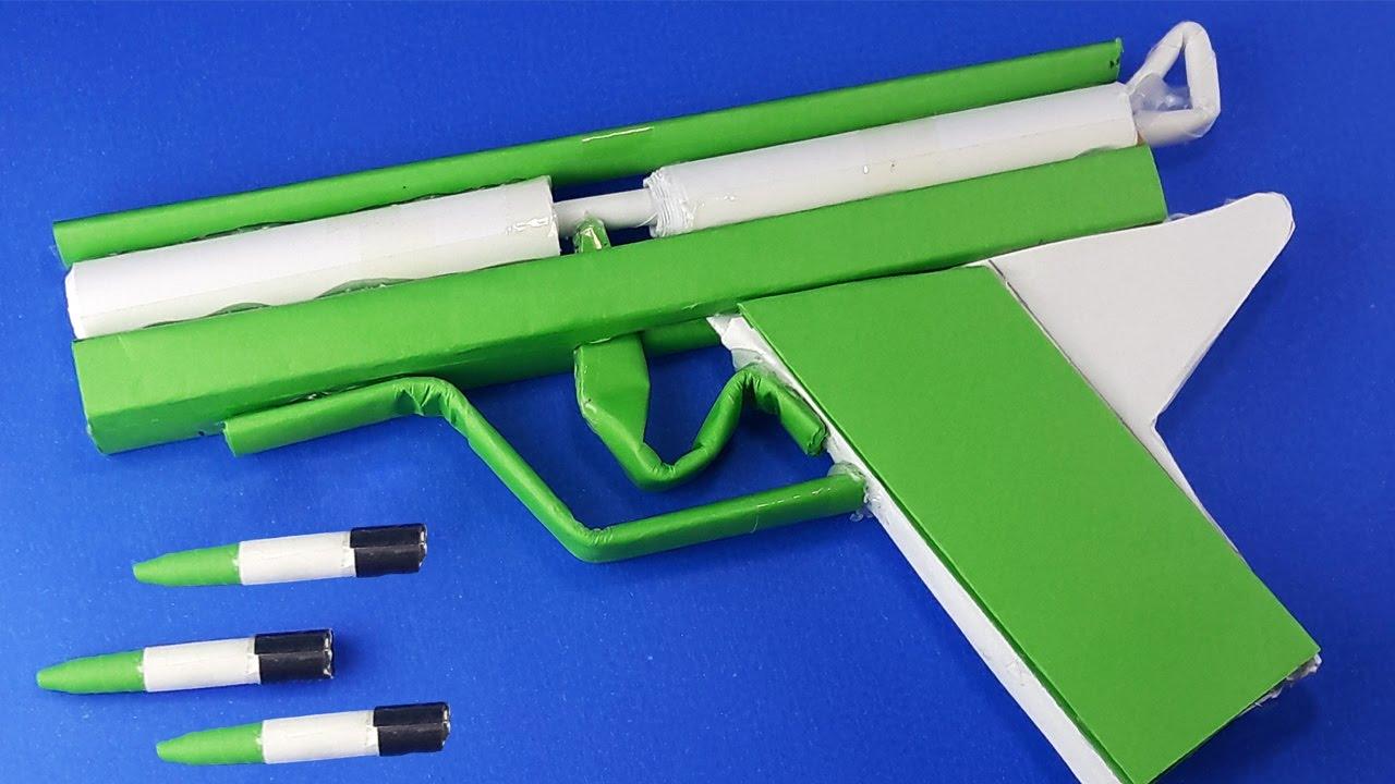 How to make a paper gun that shoots | 720x1280