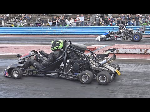 Drag Kart Racing Compilation