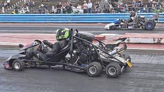 Drag Kart Racing Compilation